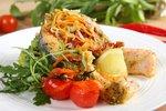 Losos z grilla na warzywach.JPG