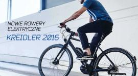 Rowery elektryczne marki Kreidler. Kolekcja 2016 to aż 27 nowych modeli Hobby, LIFESTYLE - W nowej kolekcji rowerów marki Kreidler znajduje się aż 27 jednośladów z asystą elektryczną. Dominują wciąż modele miejskie i trekkingowe, chociaż na 2016 r. producent przygotował również 6 propozycji dla zwolenników MTB.