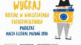 Wygraj udział w KUKBUK-owych warsztatach podczas MALTA FESTIVAL POZNAŃ 2016! Hobby, LIFESTYLE - 17 czerwca startuje MALTA FESTIVAL Poznań 2016. Magazyn kulturalno-kulinarny KUKBUK będzie jego częścią! W dniach 25-26 czerwca odbędą się KUKBUK-owe warsztaty fotograficzne, pt. ?Widz od kuchni?. Zaproszenia na nie można zdobyć, biorąc udział w konkursie.