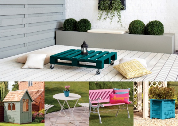 Jak za pomocą kolorów powiększyć optycznie ogród Hobby, LIFESTYLE - Nieduży ogród to rodzaj wnętrza, które podobnie jak małe mieszkanie, wymaga odpowiedniego dobrania dekoracji, oświetlenia, dodatków i kolorów, tak aby je optycznie powiększyć. Sprawdź, które rozwiązania sprawią, że Twój zielony zakątek wyda się większy.