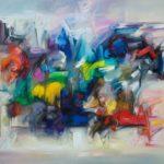 Liryzm abstrakcji w obrazach Majrowskiego ? wystawa malarstwa w Art in House