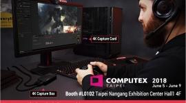 AVerMedia zaprasza na Computex 2018 Hobby, LIFESTYLE - Największe targi elektroniki komputerowej w Azji - Computex - już za chwilę. Podczas rozgrywanej w Tajpej imprezy nie zabraknie też strefy AVerMedia.