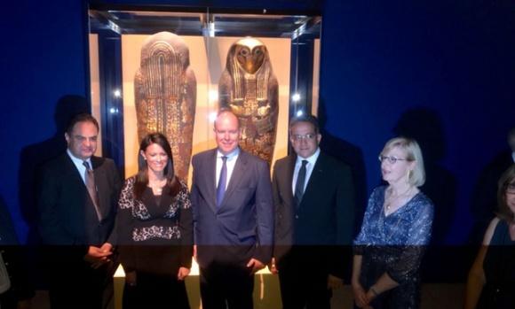 Złote skarby faraonów ? gratka dla miłośników starożytności Sztuka, LIFESTYLE - 6 lipca w Grimaldi Forum (Monako) została otwarta wyjątkowa wystawa zatytułowana ?Złote skarby faraonów ? 2500 lat sztuki złotniczej starożytnego Egiptu?.