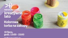 Kolorowa torba na zakupy | Empik Galeria Bałtycka Hobby, LIFESTYLE - Warsztaty