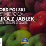 W Drawieńskim Parku Narodowym będą bić Rekord Polski z okazji Święta Jabłka