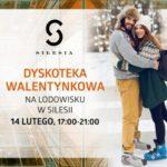 Miłość kwitnie w rytmie disco! Taneczne walentynki na lodowisku w Silesii