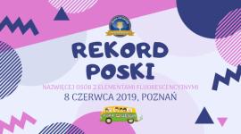 Poznańska Fura Szczęścia z szansą na oficjalny Rekord Polski Hobby, LIFESTYLE - Już w sobotę 8 czerwca w ramach Nocnego Biegu Charytatywnego ? York Fura Świetlików 2019, będzie miało miejsce rekordowe i bardzo kolorowe wydarzenie