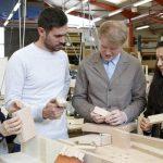 Dziedzictwo zamknięte w drewnie - projekt AHEC na Festiwal Designu w Londynie