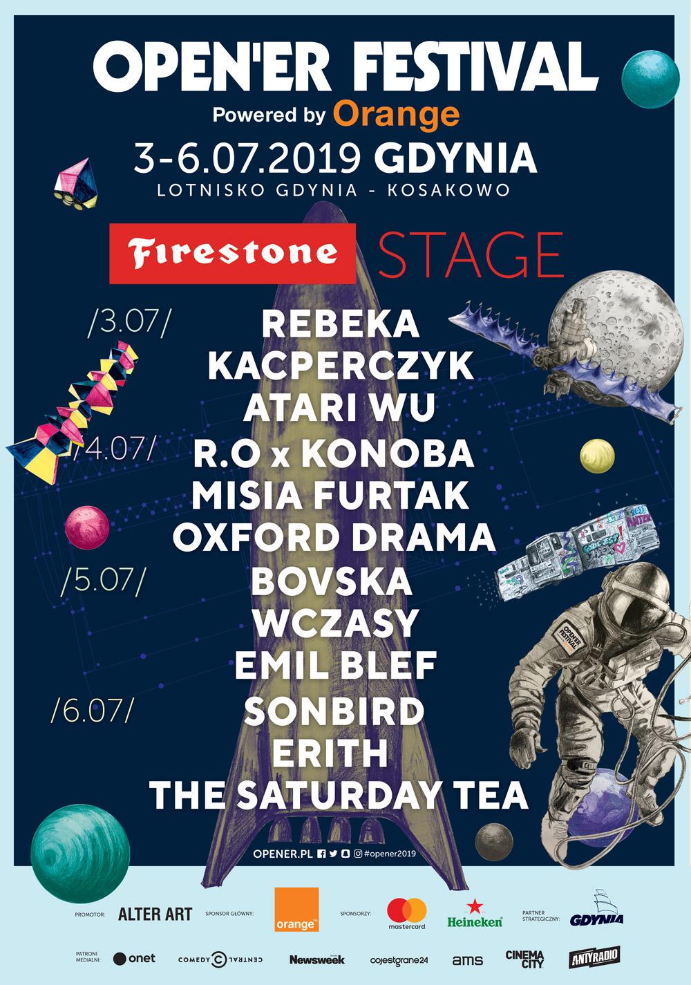Open – €™er Festival: Firestone Stage ogłasza listę artystów