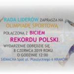 SIEMACHA będzie bić w Krakowie Rekord Polski na największą mozaikę z jabłek