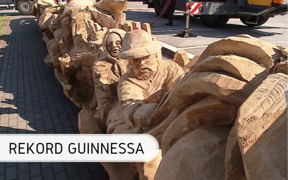 Hel z Rekordem Guinnessa na najdłuższą drewnianą rzeźbę - już oficjalnie Hobby, LIFESTYLE - Drewniane dzieło, które powstało w 2019 roku jest nie tylko rekordowe, ale przepiękne i zachwycające! Co więcej, od teraz oficjalnie znajduje się w światowej Księdze Rekordów Guinnessa.