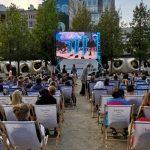 Finał kina letniego na placu Europejskim