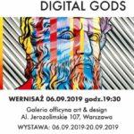 DIGITAL GODS - wystawa Michała Mąki