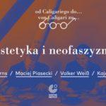 ?Estetyka i neofaszyzmy? | debata Goethe-Institut już 5 listopada