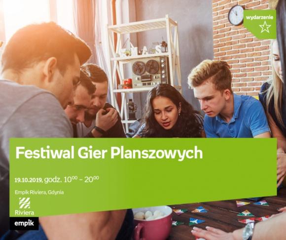 Festiwal Gier Planszowych | Empik Riviera Hobby, LIFESTYLE - festiwal