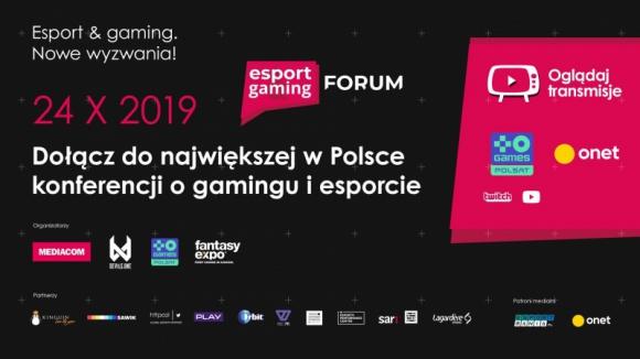 Esport & Gaming Forum Hobby, LIFESTYLE - Esport & Gaming Forum - to już druga edycja największej w Polsce konferencji poświęconej cyfrowej rozrywce i sportom elektronicznym