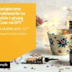 Świąteczne malowanie na szkle z grupą ?Czas na DIY? | Księgarnia Rynek