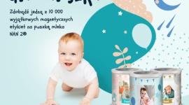 Puszka dla Maluszka od NAN 2 Hobby, LIFESTYLE - W Kreatywnej Pracowni NAN 2 możesz zaprojektować wyjątkową etykietę magnetyczną z imieniem i zdjęciem swojego maluszka!
