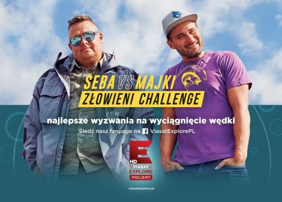 SEBA VS MAJKI ? ZŁOWIENI CHALLENGE Film, LIFESTYLE - Seba vs Majki Złowieni Challenge to nowatorski projekt Polsat Viasat Explore, który wystartował pod koniec sierpnia na profilu Facebook nadawcy.